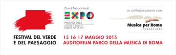 Festival del Verde e del Paesaggio | Roma Maggio 2015