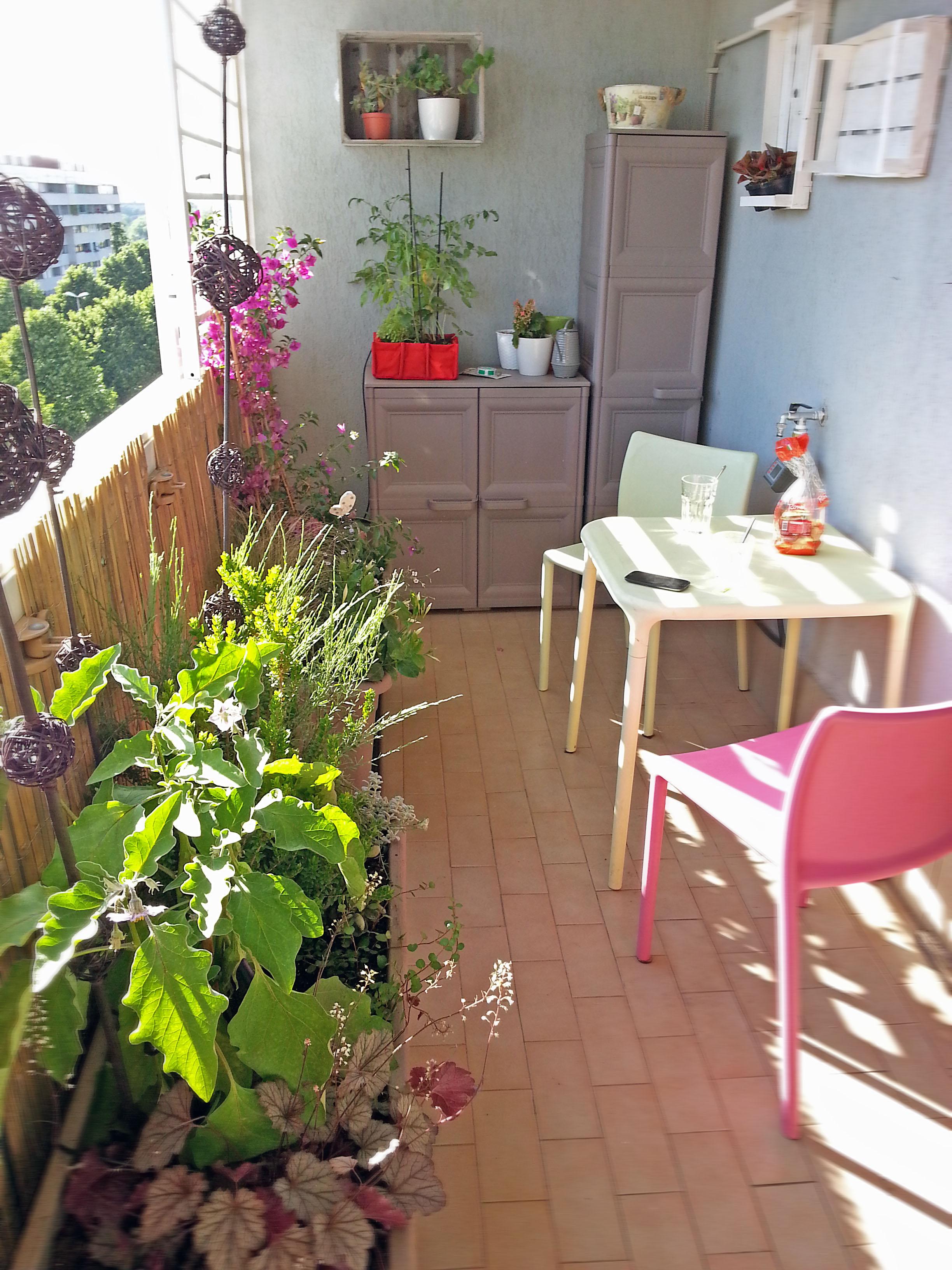 Nel balcone piccolo c il giardino buono fabio masotta for Balcone giardino