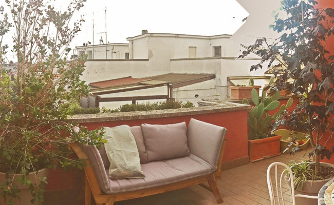 intimità in terrazzo