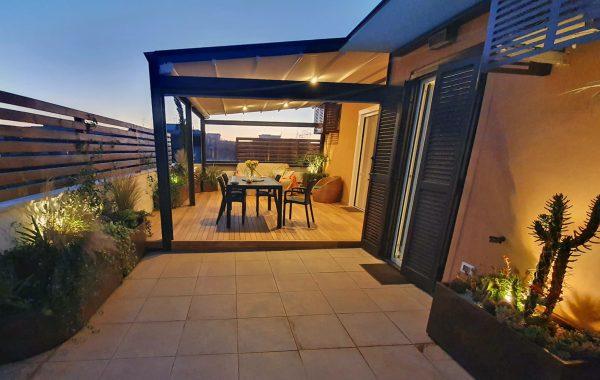 Terrazzo progettato in ogni dettaglio… dal profumo di mare