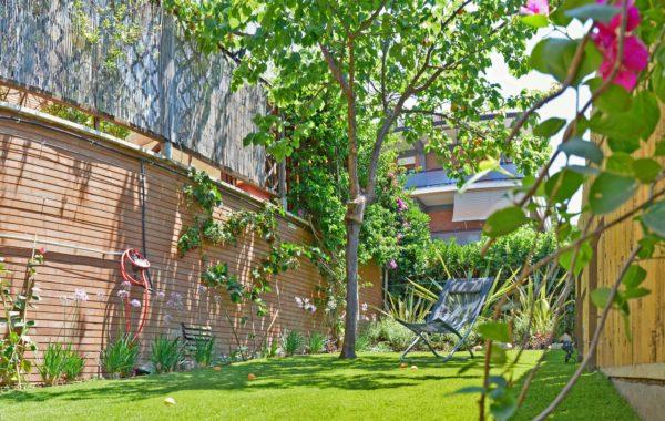 Piccolo giardino in città